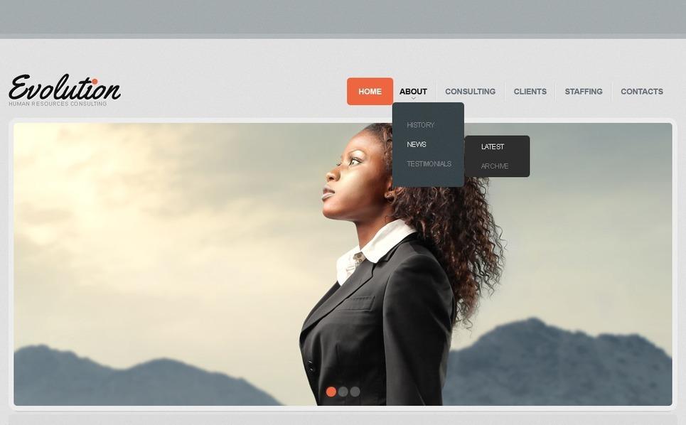 Responsive Website template over Jobportal New Screenshots BIG