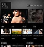 Art & Photography Website  Template 41422