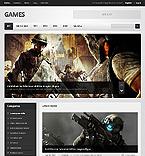 Games Drupal  Template 41428
