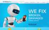 Premium Moto CMS HTML-mall för Elektronik New Screenshots BIG