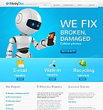 Electronics Moto CMS HTML  Template 41442