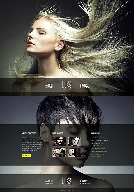 ADOBE Photoshop Template 41451 Home Page Screenshot