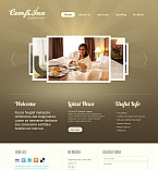 Hotels Moto CMS HTML  Template 41455