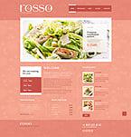 Cafe & Restaurant Website  Template 41466
