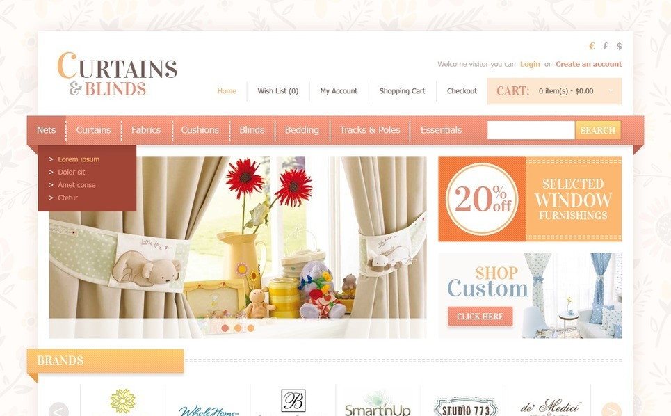 OpenCart Template over Woning Decoratie New Screenshots BIG