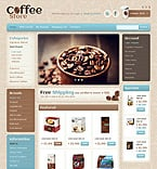 Cafe & Restaurant OpenCart  Template 41469
