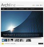 Architecture Facebook Flash CMS  Template 41492
