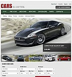 Cars Facebook Flash CMS  Template 41494