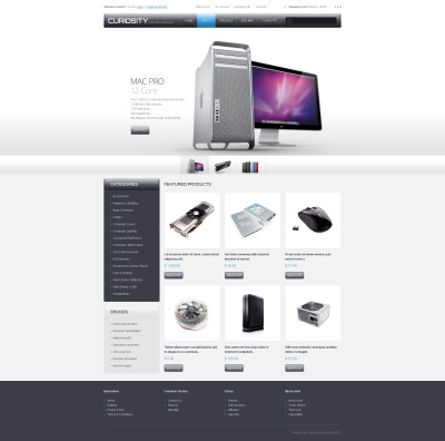 Computer Hardware OpenCart Template