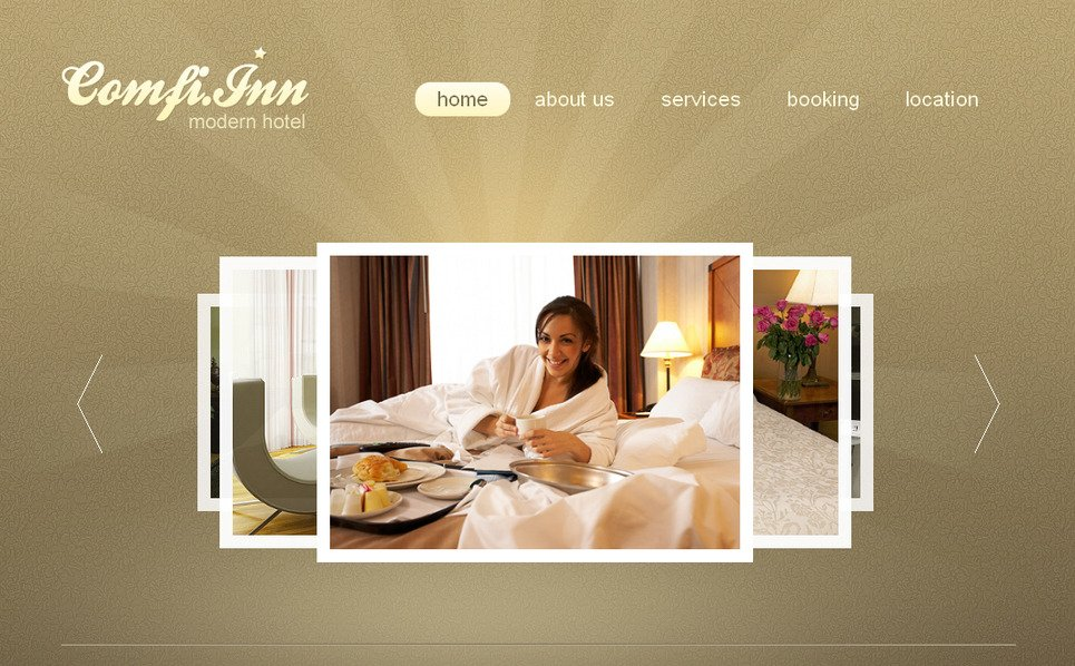 Plantilla Moto CMS HTML #41455 para Sitio de Hoteles New Screenshots BIG