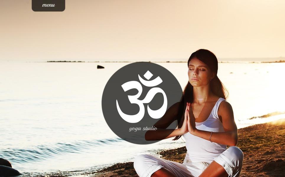 Szablon Strona Www #41507 na temat: joga New Screenshots BIG