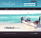 Travel Website  Template 41508