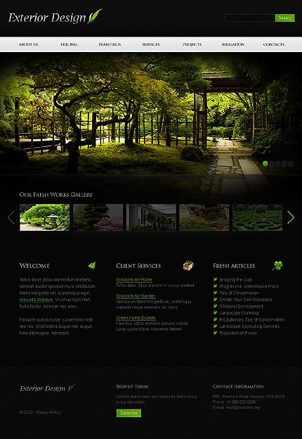 PSD макет сайта №41515