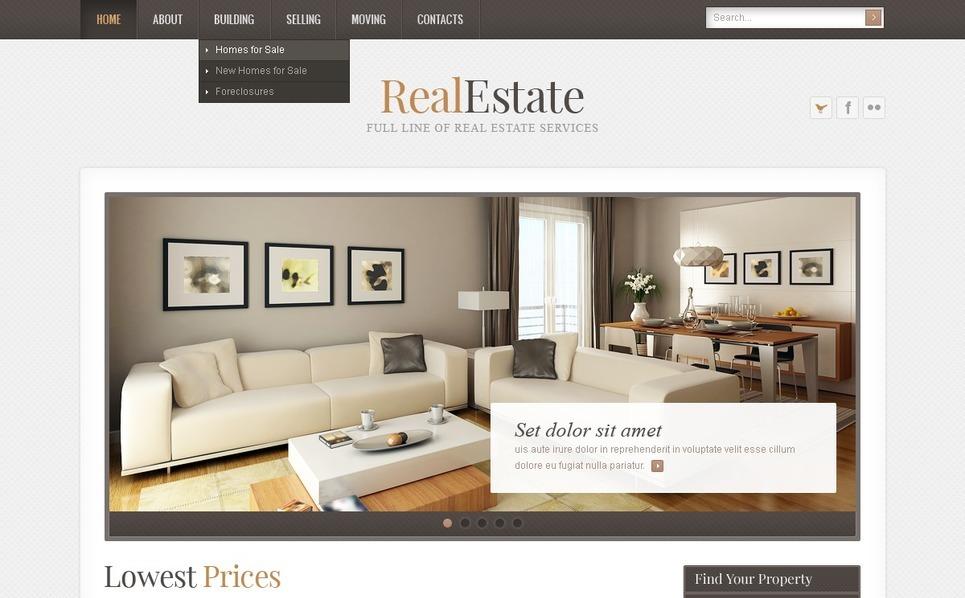 Real Estate Psd Şablon New Screenshots BIG