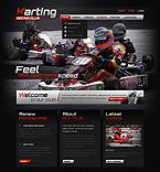 Sport PSD  Template 41521
