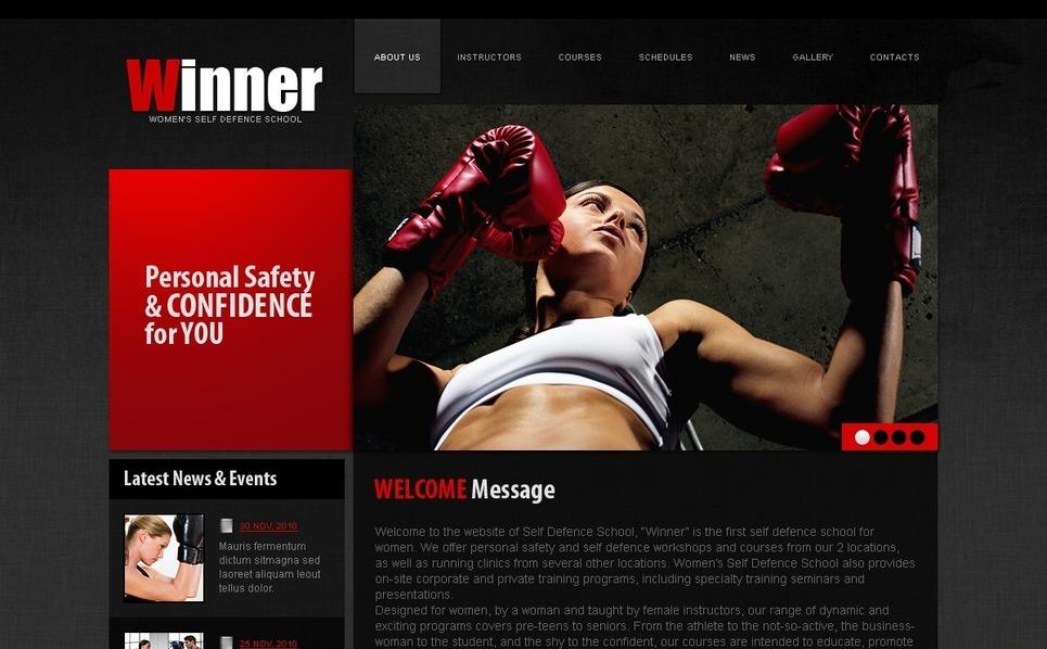 Szablon PSD #41526 na temat: boks New Screenshots BIG