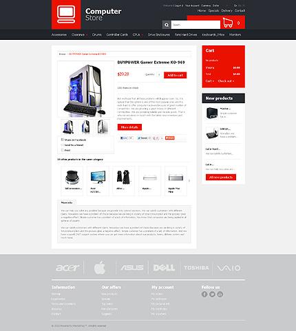 ADOBE Photoshop Template 41534 Home Page Screenshot