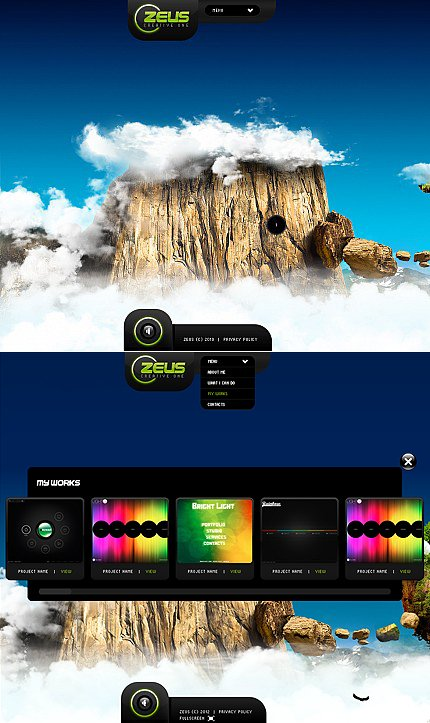 ADOBE Photoshop Template 41540 Home Page Screenshot