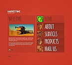 Agriculture Flash CMS  Template 41542