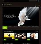 Religious Flash CMS  Template 41543