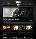 Games Website  Template 41559