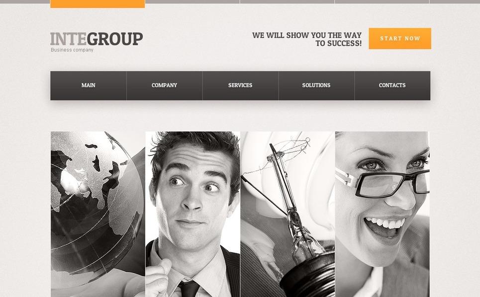 Šablona webových stránek Reklamní agentura New Screenshots BIG