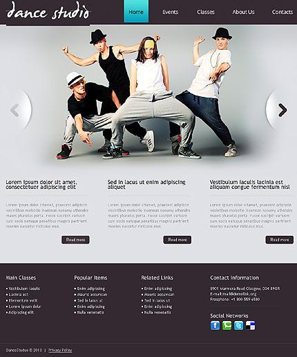 Drupal Template 41585 Main Page Screenshot