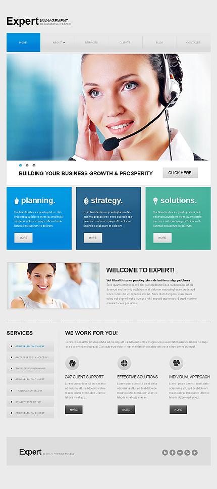 Drupal Template 41593 Main Page Screenshot