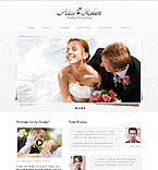 Wedding PSD  Template 41597