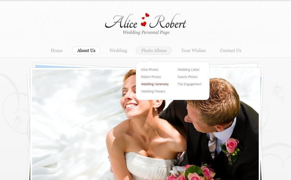 PSD Template over Huwelijk  New Screenshots BIG