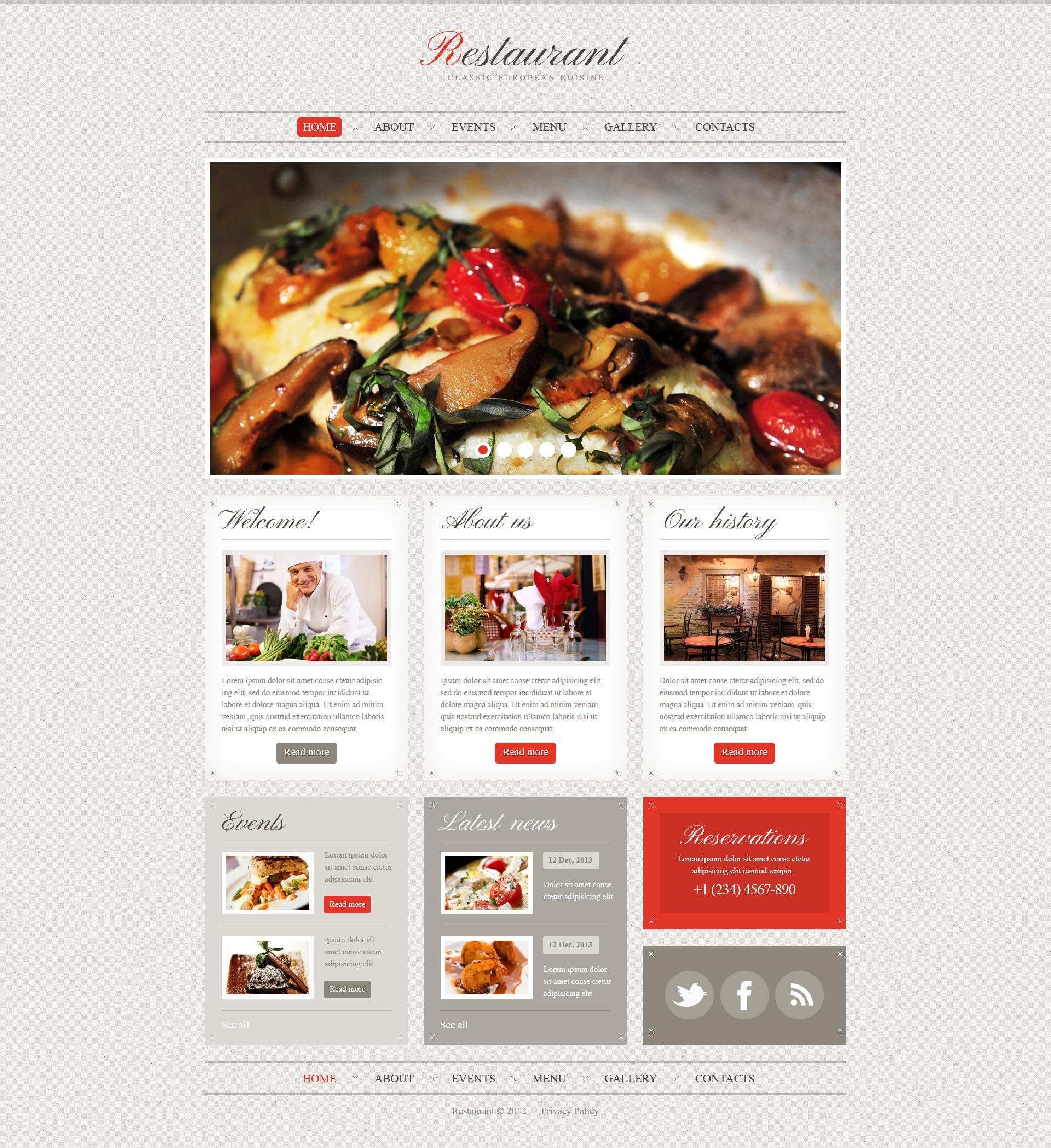 Großartig Restaurant Flyer Vorlage Galerie - Entry Level Resume ...