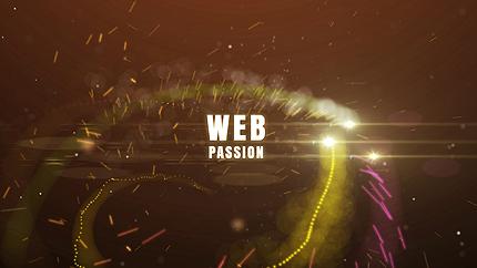 Заставка After Effects на тему веб дизайн №41599