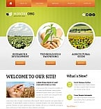 Agriculture Moto CMS HTML  Template 41604