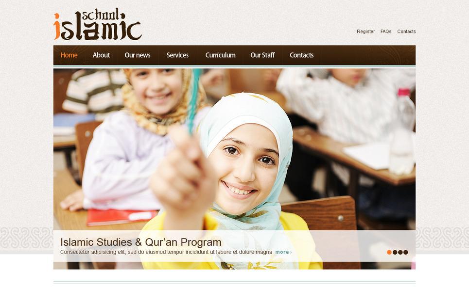 Plantilla Moto CMS HTML #41608 para Sitio de Educación New Screenshots BIG