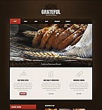 Food & Drink Moto CMS HTML  Template 41609