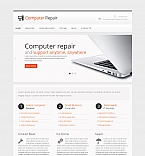 Computers Moto CMS HTML  Template 41611
