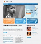 Charity Moto CMS HTML  Template 41615