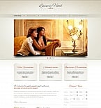 Hotels Moto CMS HTML  Template 41617