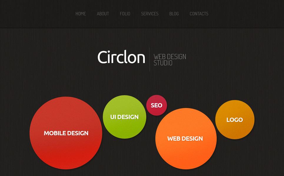 MotoCMS HTML шаблон на тему студія дизайну New Screenshots BIG