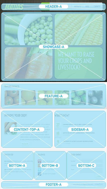 Joomla Theme/Template 41621 Main Page Screenshot