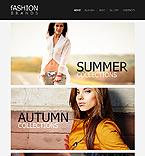 Fashion Website  Template 41628