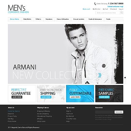 Magento Theme/Template 41647 Main Page Screenshot