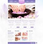 Beauty Website  Template 41652