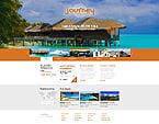 Travel Website  Template 41658