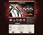 Casino Website  Template 41660