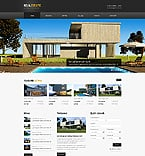 Real Estate Website  Template 41662