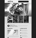 Art & Photography Website  Template 41663
