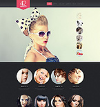 Fashion Website  Template 41666
