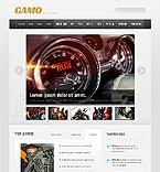 Games Website  Template 41672