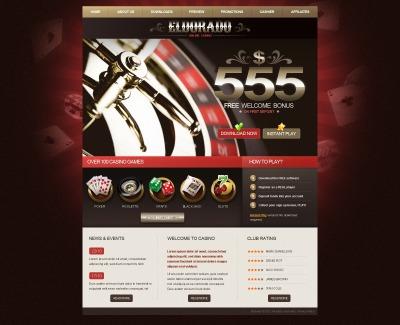 HTML шаблон №41660 на тему онлайн-казино